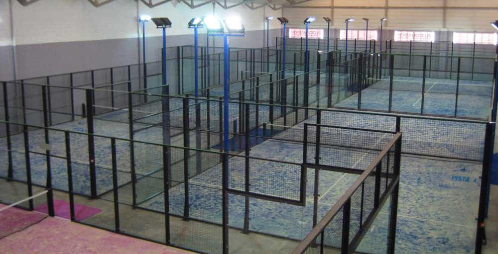 Setpoint padel. 7 pistas indoor en Getafe.