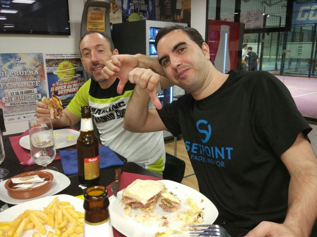 Cafetería pádel Getafe