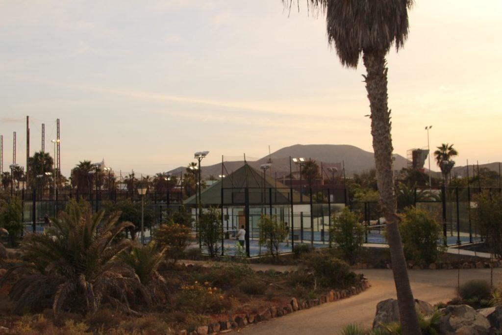 pádel en Canarias