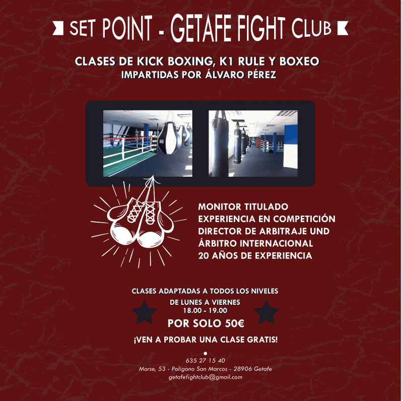 Clases Getafe Fight Club