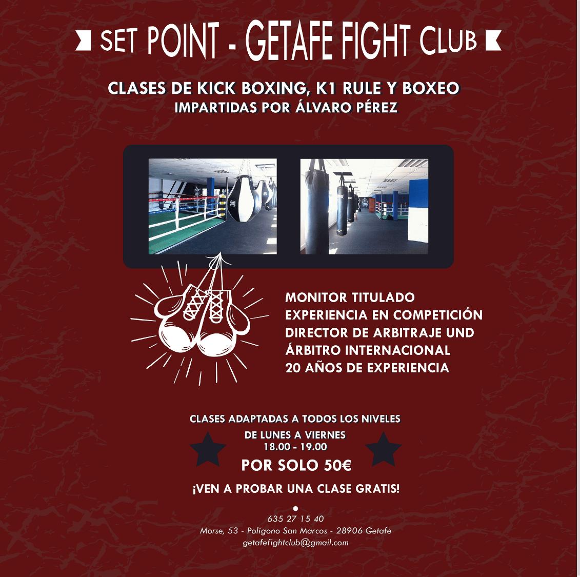 Clases Getafe Fight Club