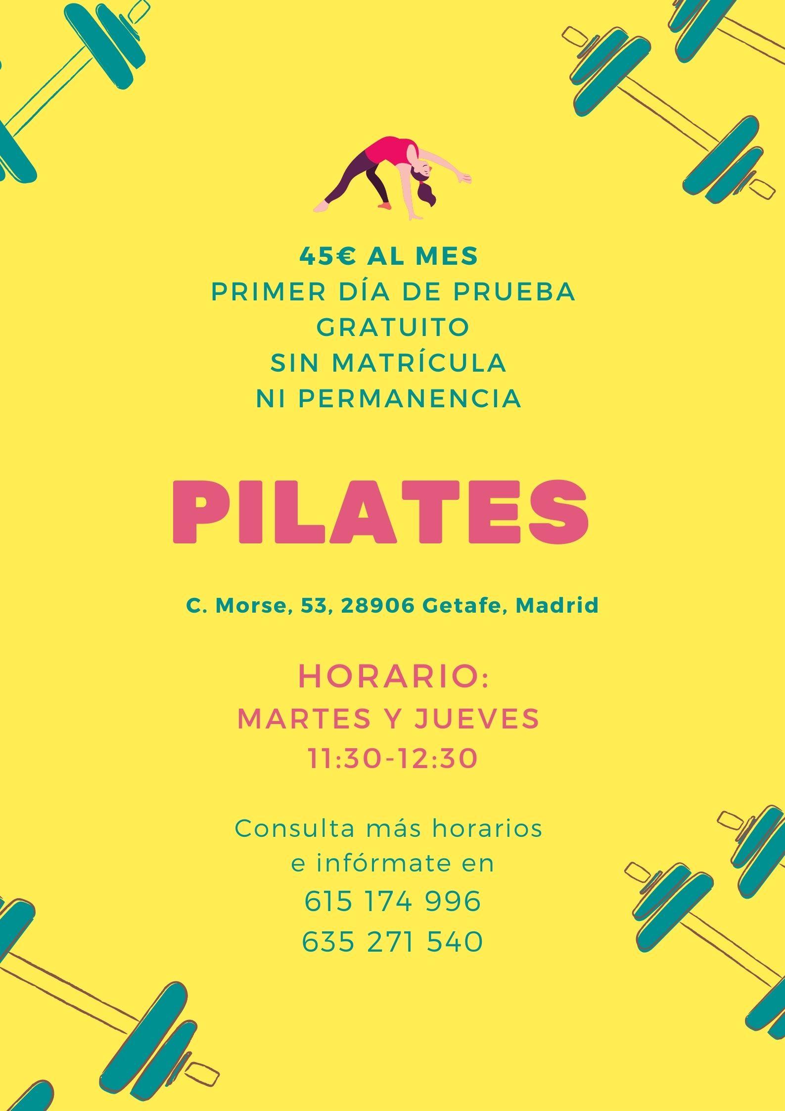 Pilates en Getafe